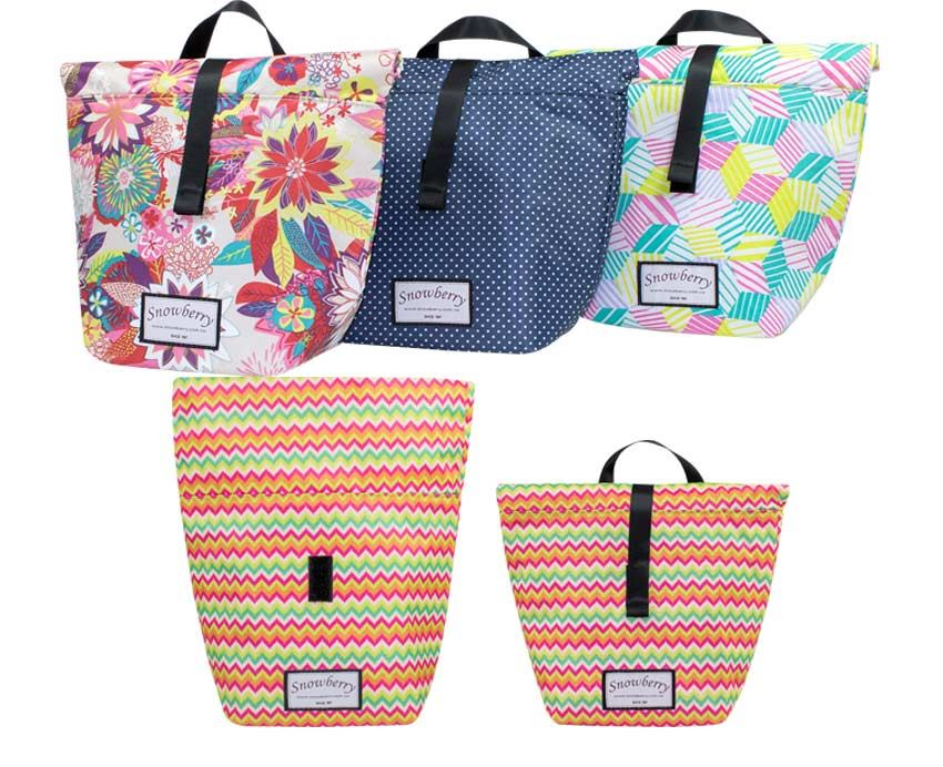 卷口保温袋 - 食物袋,矽胶袋,可重复使用,兼具保温保冷功效,减塑环保新选择 - 展示图