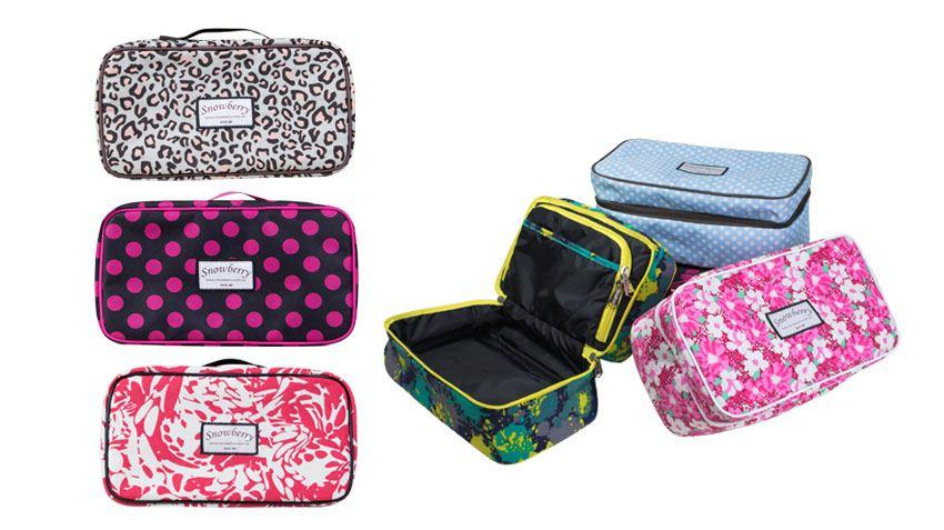 貼身衣物收納包 - 防潑水面料,裝化妝品,貼身衣物,可帶進浴室使用圖