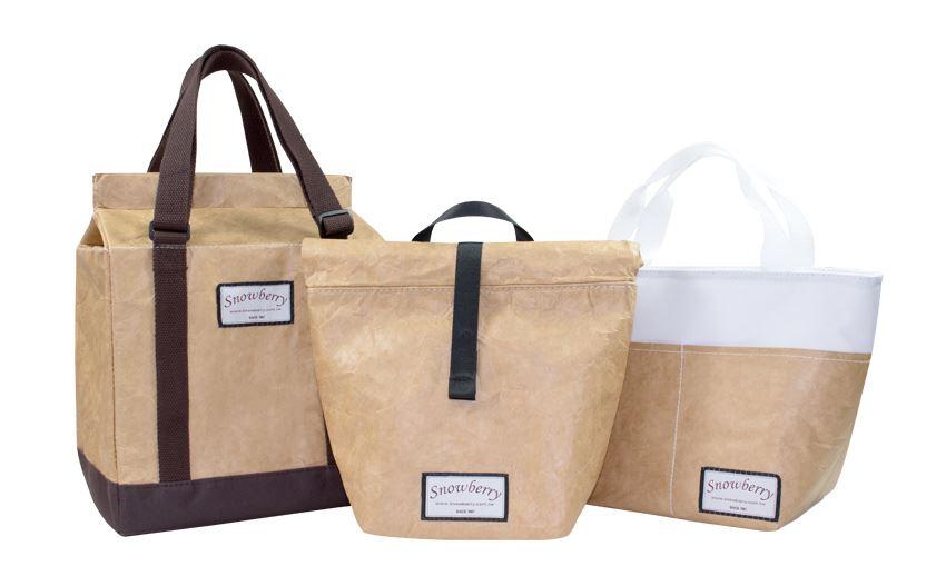 防水牛皮紙保溫袋-全防水,兼具保溫保冷,最文青的環保食物袋-展示圖