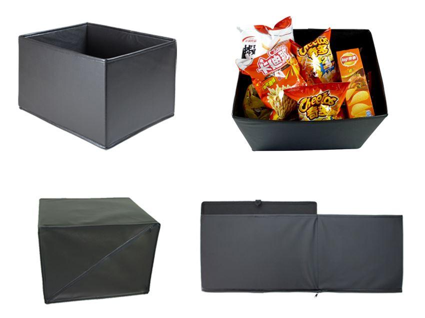 餐廳收納箱,收納置物籃,格子櫃,玩具收納箱,展開說明圖