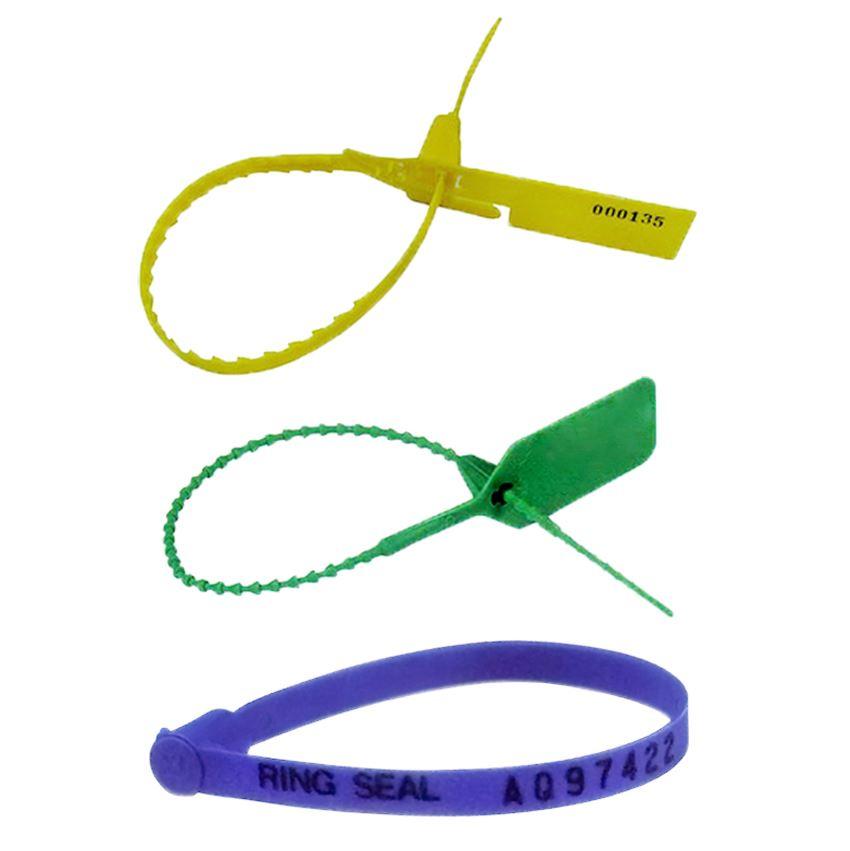塑膠封條-船封紮線帶,束線條,物流箱,說明圖